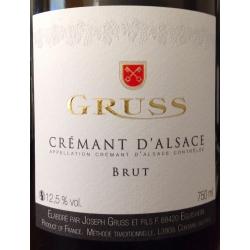 Crémant D`Alsace Domaine Gruss Brut