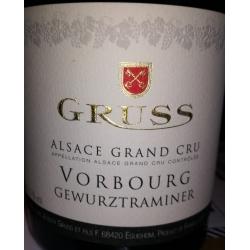 Gewurztraminer Grand Cru VORBOURG (Domaine Gruss) 2014