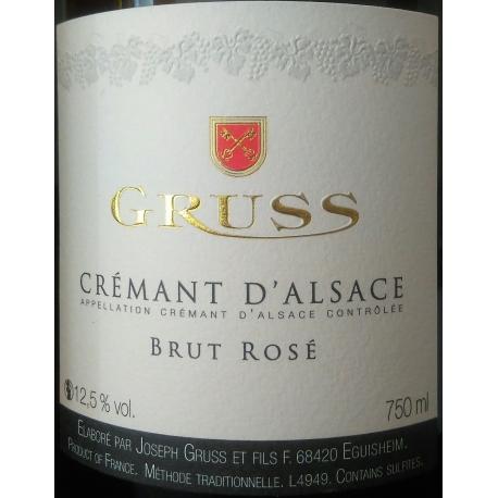 Crémant D`Alsace Domaine Gruss Brut ROSE