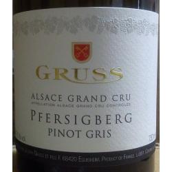 Pinot Gris Grand Cru Pfersigberg Dom. Gruss 2015
