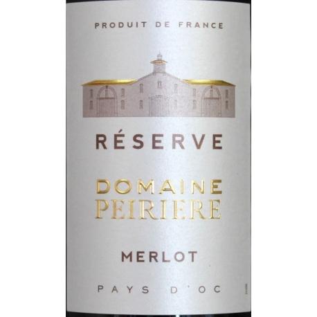 Merlot Domaine Peiriere Reserve 2015