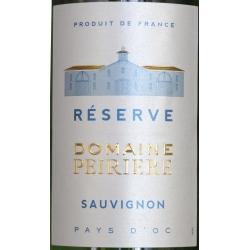 Sauvignon Reserve Domaine Peirière - Pays D'Oc 2016