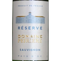 Sauvignon Reserve Domaine Peirière - Pays D'Oc 2015
