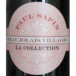 Beaujolais Villages Collection - Paul Sapin 2013