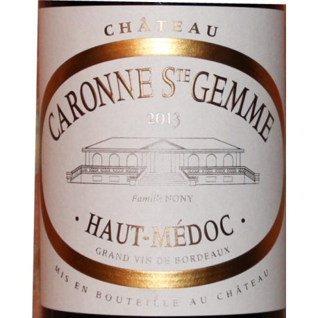 Château Caronne St- Gemme 2013
