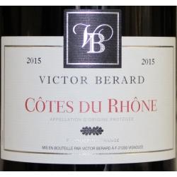 Côtes Du Rhône Victor Bernard 2015