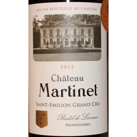 Château Martinet Saint Emilion Grand Cru 2012