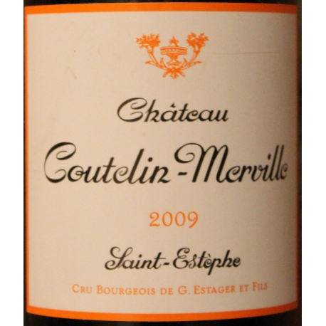 Château Coutelin Merville 2009