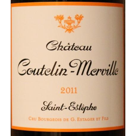 Château Coutelin Merville 2011 Cru BOIRGEOIS 2011
