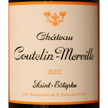 Château Coutelin Merville 2011 Cru BOIRGEOIS