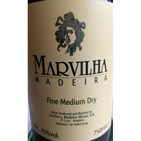 Madeira Marvilha Fine Medium Dry 19%