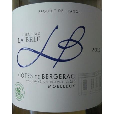 BERGERAC Château La Brie Zoet wit/ blanc moelleux 2015