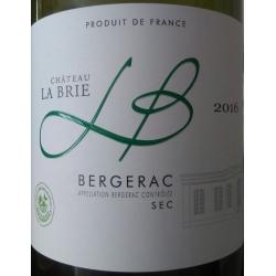 Château La Brie BERGERAC wit sec 2017