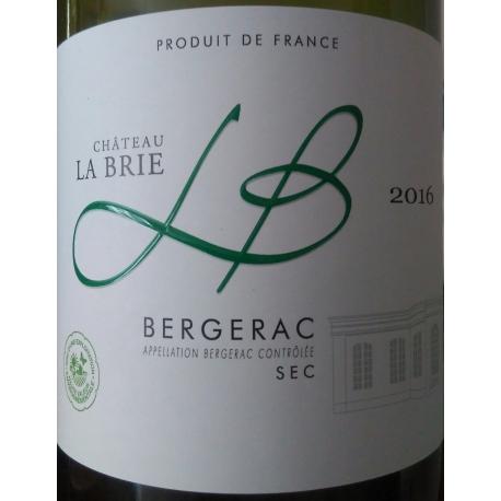 Château La Brie BERGERAC sec 2015