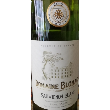 Sauvignon Blanc Domaine Blomac 2017