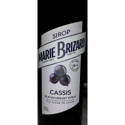 Marie Brizard Cassis (zwarte bes) Siroop 70 cl.