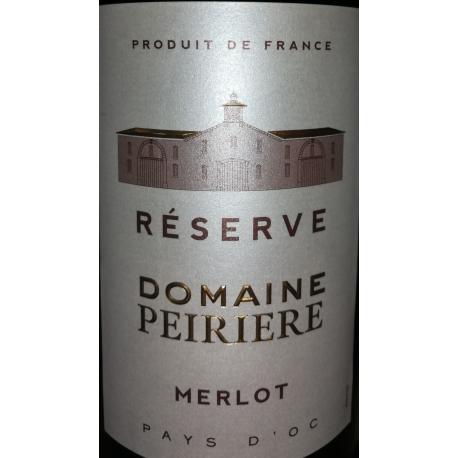 Merlot Domaine Peiriere Reserve 2017