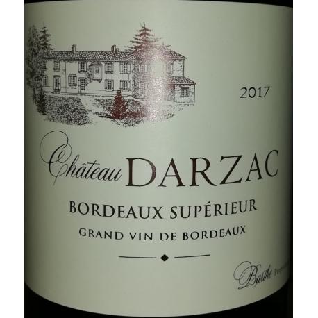 Château Darzas Bordeaux Superieur RESERVE rouge 2015