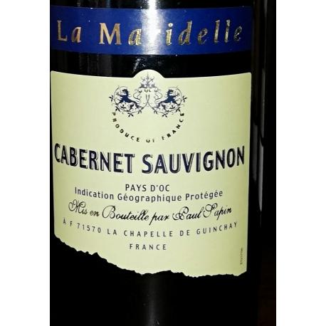 La Maridelle Cabernet Sauvignon 25 cl. Paul Sapin Pays D'OC