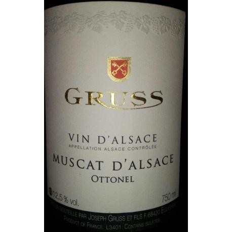 Domaine Gruss Muscat d'Alsace Ottonel