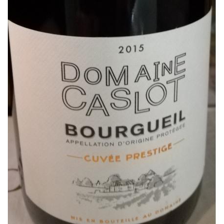 """Bourgueil Domaine Caslot """"Cuvée Prestige"""" 2014 Drouet"""