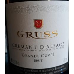 Crémant d'Alsace Grande Cuvée Domaine Gruss