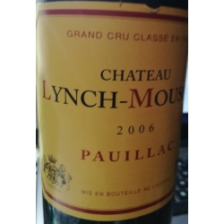 Lynch Moussas Grand Cru Classé 2006