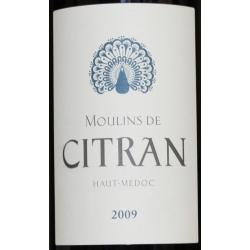 Moulins De Citran 2009 Haut-Medoc